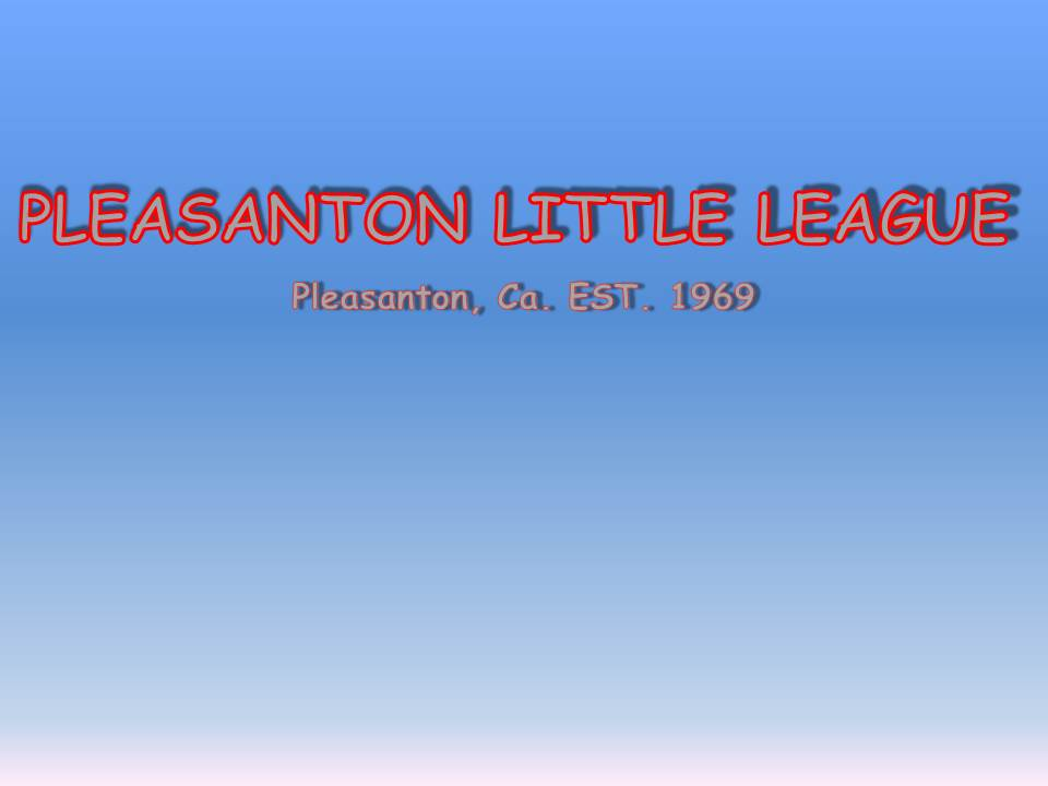 Pleasanton National Little League, Baseball, Run, Field