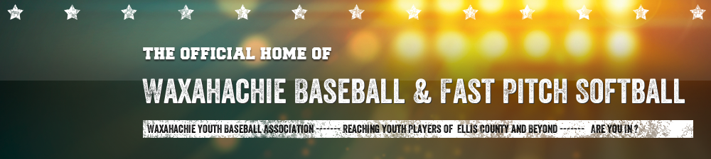 Waxahachie Youth Baseball Association, Baseball, Run, Field