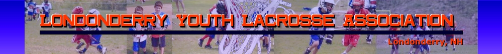 Londonderry Youth Lacrosse Association, Lacrosse, Goal, Field