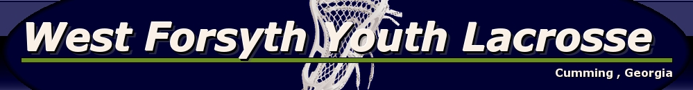 West Forsyth Youth Lacrosse, Lacrosse, Goal, Field