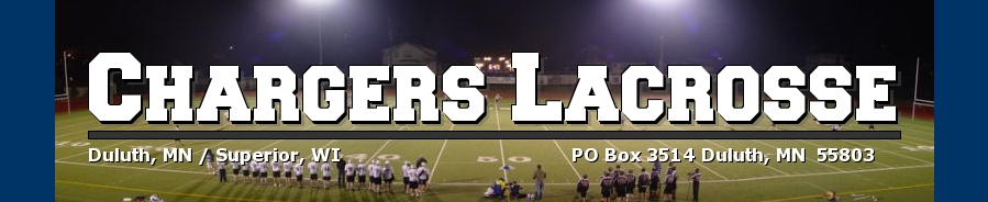 Chargers Lacrosse, Lacrosse, Goal, Field