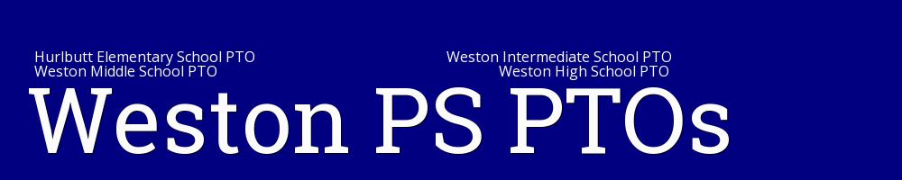 WestonPS PTOs, PTO, , School
