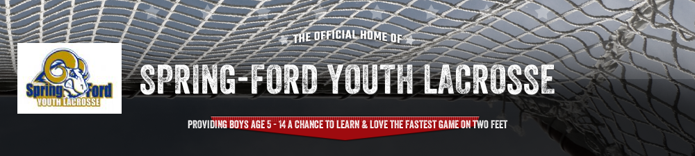 Spring-Ford Youth Lacrosse, Lacrosse, Goal, Field