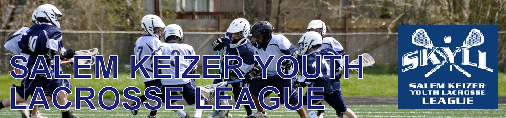Salem Keizer Youth Lacrosse League, Lacrosse, Goal, Field