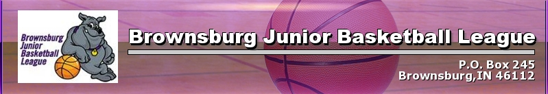 Brownsburg Junior Basketball League, Basketball, Point, Court
