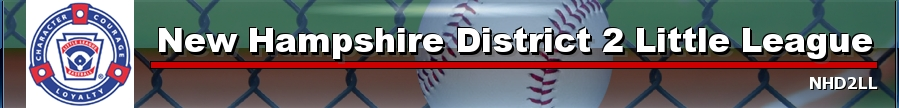 New Hampshire District II Little League, Baseball, Run, Field