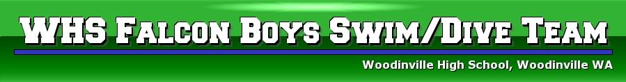 WHS Falcon Boys Swim/Dive Team, Swimming/Diving, Goal, Juanita HS Pool