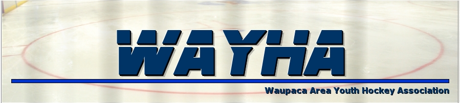 Waupaca Area Youth Hockey Association, Hockey, Goal, Rink