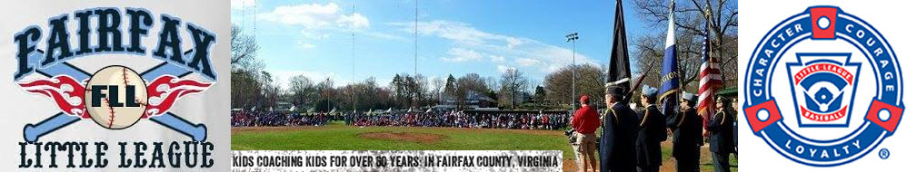 Fairfax Little League of Virginia, Baseball, Run, Field