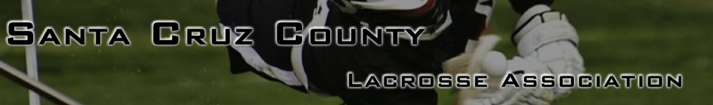 Santa Cruz County Lacrosse Association, Inc., Lacrosse, Goal, Field