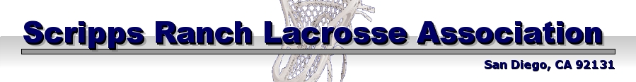 Scripps Ranch Lacrosse Association, Lacrosse, Goal, Field