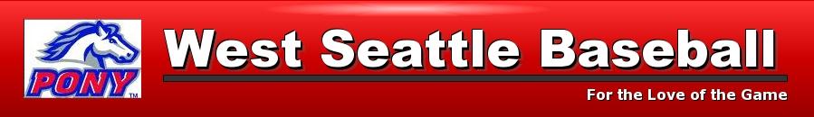 West Seattle Baseball, Baseball, Run, Field