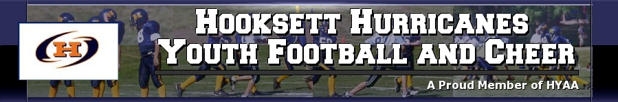 Hooksett Hurricanes Youth Football & Cheer, Football, Point, Field