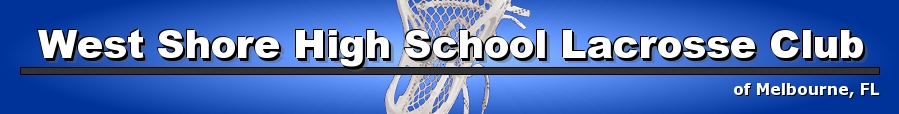 West Shore High School Lacrosse Club, Lacrosse, Goal, Field