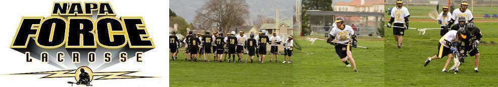 Napa Junior Lacrosse Club, Lacrosse, Goal, Field