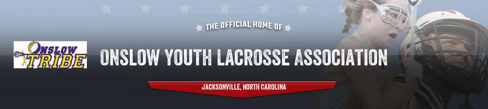 Onslow Youth Lacrosse Association, Lacrosse, Goal, Field