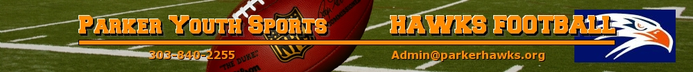 Parker Hawks Football, Football, Goal, Field