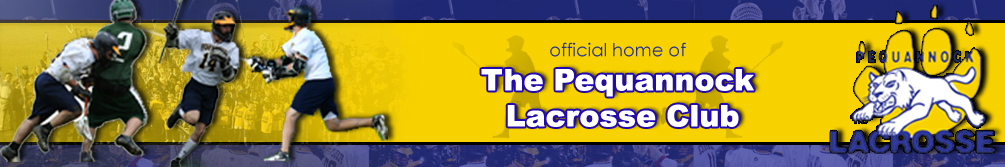 Pequannock Lacrosse, Lacrosse, Goal, Field