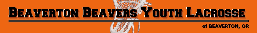 Beaverton Beavers Youth Lacrosse, Lacrosse, Goal, Field