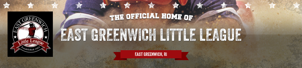 EAST GREENWICH LITTLE LEAGUE, Baseball, Run, Field