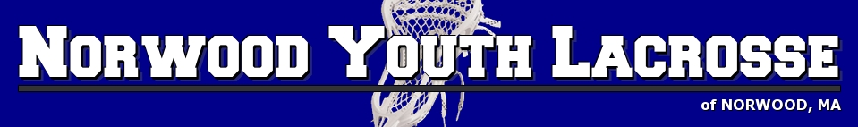 Norwood Youth Lacrosse, Lacrosse, Goal, Field