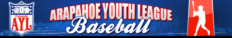 Arapahoe Youth Leagues - Baseball, Baseball, Run, Field