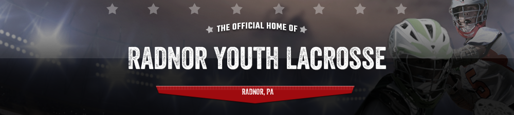Radnor Boys Youth Lacrosse, Lacrosse, Goal, Field