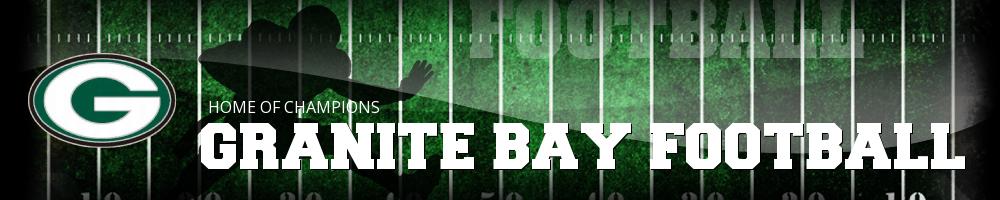 Granite Bay Football - Touchdown Club, Football, Goal, Field