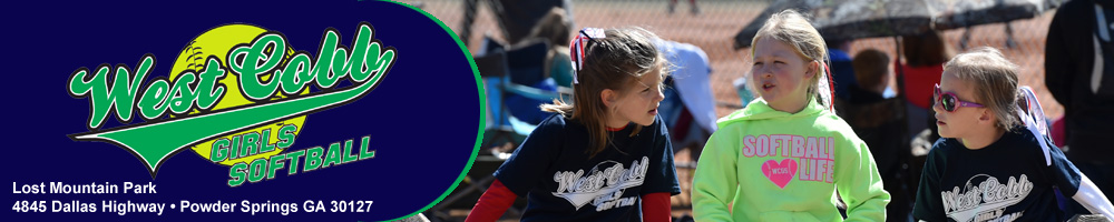 West Cobb Girls Softball, Inc, Softball, Run, Field