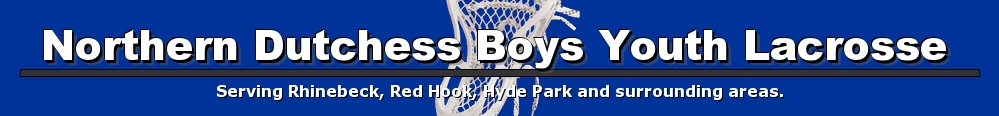 Northern Dutchess Boys Youth Lacrosse Association, Lacrosse, Goal, Field