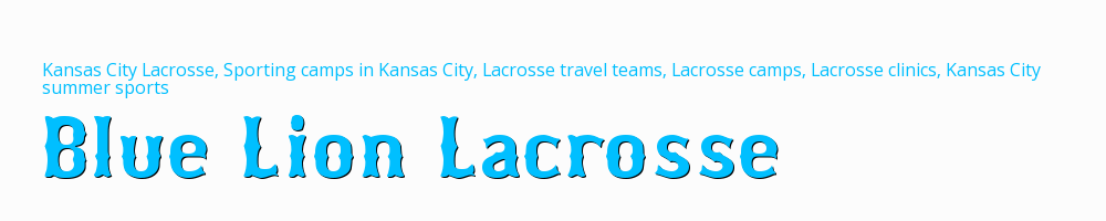 Blue Lion Lacrosse, Lacrosse, Goal, Field