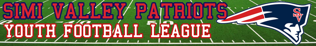 Simi Valley Patriots Youth Football League, Football, Goal, Field