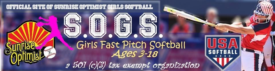 Sunrise Optimist Girls Softball, Softball, Run, Field