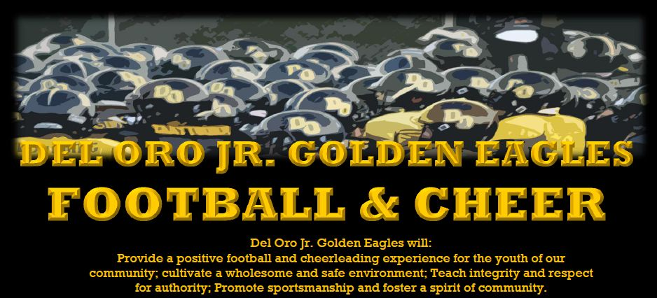Del Oro Jr. Golden Eagles Football & Cheer, Football & Cheer, Points, Field