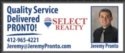 Jeremy Pronto Prudential Preferred Realty