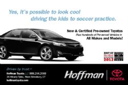 Hoffman Toyota- Hoffman, Driven by Trust