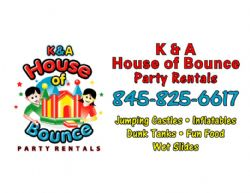 Homerun Sponsor - K&A House of Bounce Party Rentals
