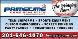 MVP Sponsor - Primetime Team Athletics