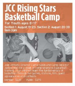 JCC Rising Stars Basketball Camp