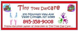 MVP Sponsor - Tiny Toes Day Care