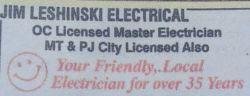 Jim Leshinski Electrical