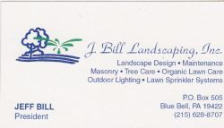 J. Bill Landscaping Inc.