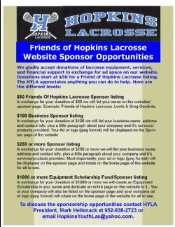 How To Become A Sponsor