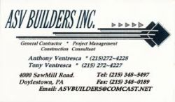 ASV Builders Inc.