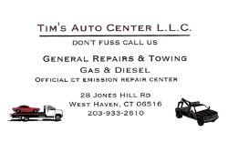 Tim's Auto Center L.L.C.