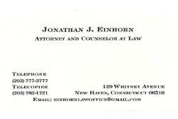 Jonathan J. Einhorn