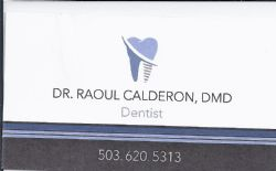 Dr Raoul Calderon, DMD