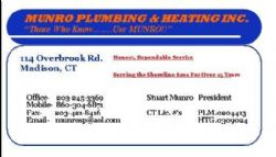Munro Plumbing & Heating Inc.