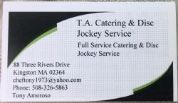 T.A. Catering & Disc Jockey Service