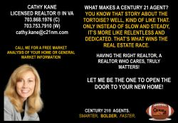Cathy Kane, Century 21 Realtor
